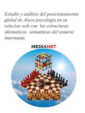 Estudio y análisis del posicionamiento global de Alava psicologia por Medianet Vitoria